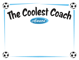soccer awards templates free printable basketball certificates best coach google search