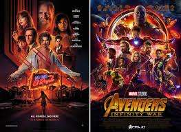 A lot goes down in bad times at the el royale, and most of it is bad. Thought The Bad Times At The El Royale Poster Looked Familiar Marvelstudios