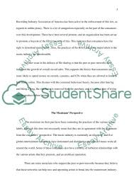 history of music industry essay example topics and well written text