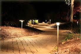 image of simple low voltage landscape lighting