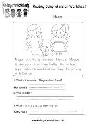 Kids. free kindergarten language arts worksheets: Sentence ...