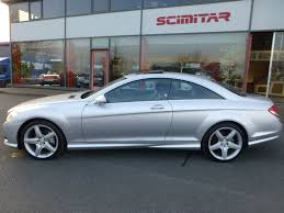 Used Arctic Silver Mercedes CL500 For Sale | Cheshire