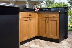 Spellbinding Outside Kitchen Cabinets For Less With Varnish Teak Wood Kitchen  Cabinets Doors With Copper Door