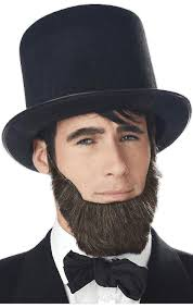 abraham lincoln beard american president fancy dress costume accessory fruugo