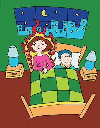 hot flushes night sweat during menopause