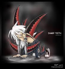 sharp teeth. sharp teeth. teeth