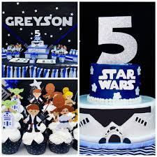 star wars 5th birthday party