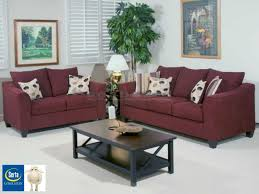 Stylish Sofa Sets For Living Room Serta 1225 Flyer Wine Living Room Set