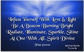 Radiate An Energy Of Serenity Peace