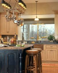kitchen lighting over island. Over Island Pot Rack With Lights Kitchen Ideas About Lighting On Pleasant A