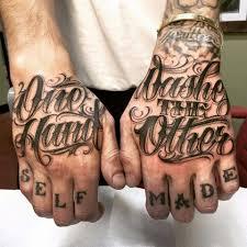 Done By My Boy кисть текст тату идеи для татуировок и