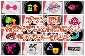 スプラ トゥーン 2 ブランド