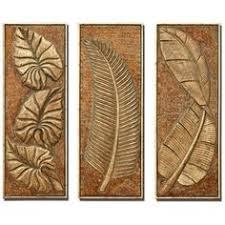 tropical ferns set of 3 decorative wall art panels on tropical themed wall art with an example of an etched glass layout sketch by cory kot artwork by