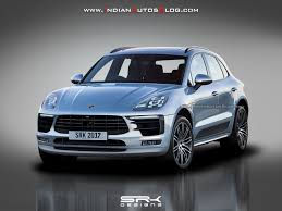 porsche macan restyling 2018.  restyling 2018 porsche macan front three quarters rendering intended porsche macan restyling r