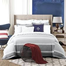 tommy hilfiger duvet cover grey and white stripe cotton 3 piece set denim twin tommy hilfiger duvet cover