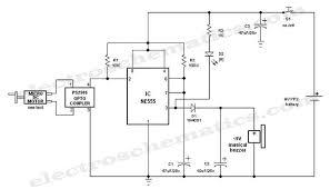crank doorbell circuit schematic electronic crank mechanical doorbell circuit schematic
