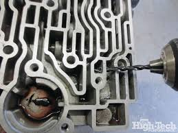 rebuild a 4l80e transmission with the transgo hd2 kit gm high 4l80e Wiring Harness Removal 4l80e transmission rebuild drill hole valve 4l80e internal wiring harness removal