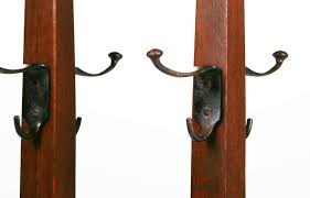 Stickley Coat Rack Gustav Stickley Double Coatrack California Historical Design 30