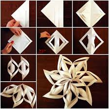 paper snowflakes 3d wonderful diy 3d paper star snowflakes wonderful diy paper