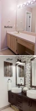 bathroom remodel ideas before and after. 5. A Tile Accent Wall Is Modern Bathroom Remodel Ideas Before And After C