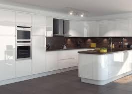Reflections High Gloss White Kitchen modern-kitchen
