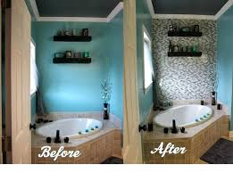 diy bathroom wall tile glass tile accent wall in master bathroom diy bathroom wall tile ideas