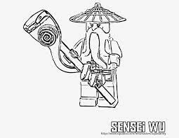 Ninjago Sensei Wu Ausmalbild - Coloring and Drawing