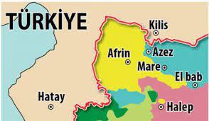 Azez Suriye'nin neresinde? İşte, haritadaki konumu! (Afrin Operasyonu) -  GÜNCEL Haberleri