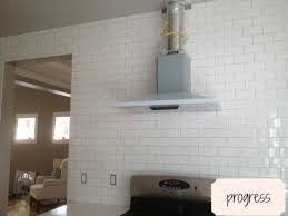 white subway tile grey grout. Delighful Grout What Color Is My Subway Tile Grout A Kitchen Remodel Progress Report Inside White Grey Grout U