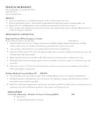 Resume Templates For Nursing Students