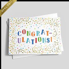 Congratulations Design Congratulations Colors
