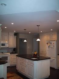 Can Lighting In Kitchen Kitchen Lighting Design Schoolhouse Style In The Kitchen View In