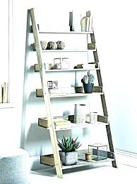 metal frame bookshelf diy somme rustic single bed with a ladder shelf shelves 5 tier furniture