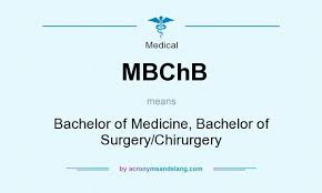 Be Stands For What Does Mbchb Mean Definition Of Mbchb Mbchb Stands