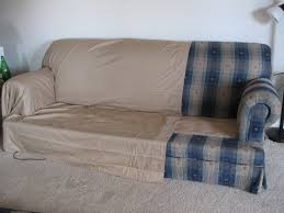 how to cover furniture. Making Couch Covers From Two Queen Bed Sheets...and Upholstery Pins How To Cover Furniture