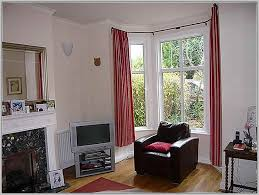 how to hang eyelet curtains in bay window home the honoroak