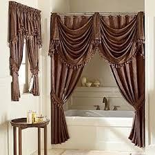 Shower curtains Brown Elegant Shower Curtains Shower Curtain Designer Curtain Design Pinterest Elegant Shower Curtains Shower Curtain Designer Curtain Design
