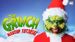 the grinch sfx makeup tutorial