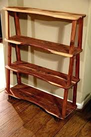 wooden bookshelves star
