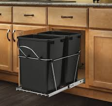 Retro Kitchen Trash Can Simplehuman Cabinet Mount Trash Can Best Home Furniture Ideas