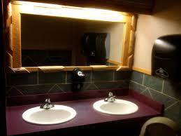 restaurant bathroom. so restaurant bathroom e