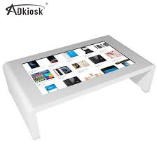 china 55 inch touch screen coffee table