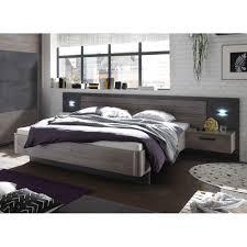 Schlafzimmer Palma Brüssel Haveleiche Betonoxid Grau Kleiderschrank