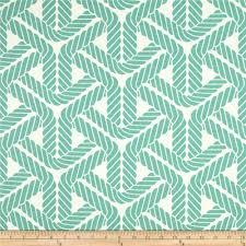 Waverly Sun N Shade Topsail Trellis Aqua - Discount Designer Fabric - Fabric .com