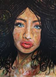 beautiful ambiguity beauty art portrait painting