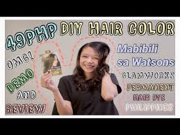 diy haircolor ph