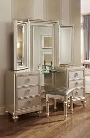 Elegant White Bedroom Vanity Set At Brilliant Beautiful Vanities ...
