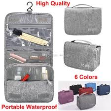 makeup bags hanging travel toiletry bag bathroom storage organizer bags with hanging hook wash accessories for cosmetics toiletries pouch nz 2019 from