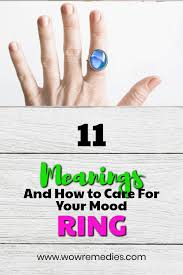 Mood Ring Colors Meanings Color Chart And If They Really Work