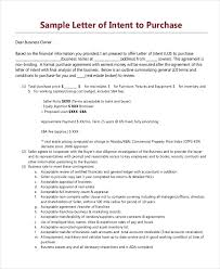 letter of intent sles in ms word